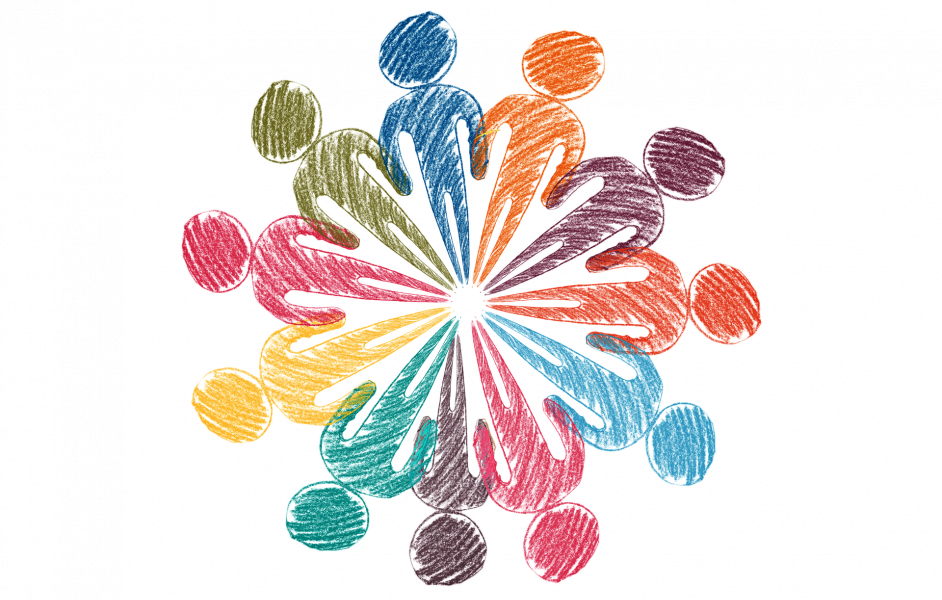 Menschen Netzwerk Gemeinschaft