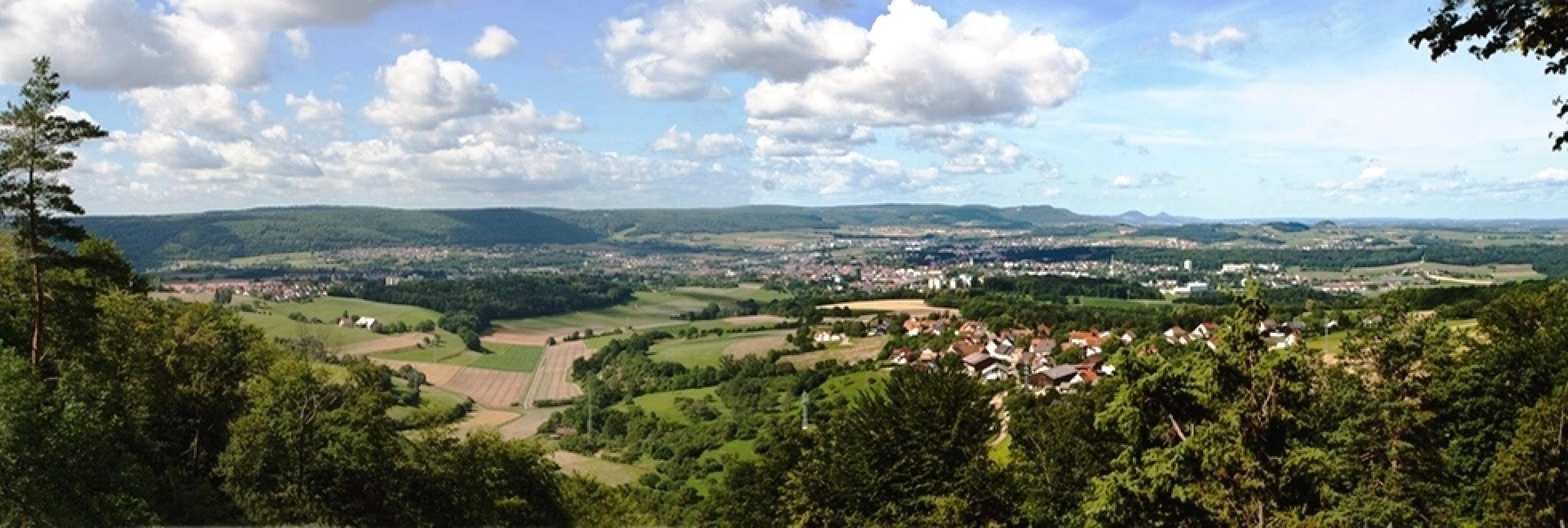 NFH Brauenberg - Blick auf die Kaiserberge